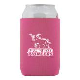 Neoprene Hot Pink Can Holder-Primary Mark - Athletics