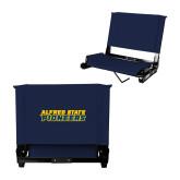 Stadium Chair Navy-Word Mark