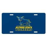 License Plate-Primary Mark - Athletics