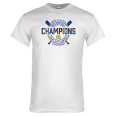 White T Shirt-2018 SIAC Softball Champions