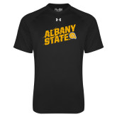 Under Armour Black Tech Tee-Albany State Slanted