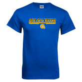 Royal T Shirt-Stacked Golden Rams Design