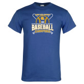 Royal T Shirt-2018 SIAC Baseball Champions