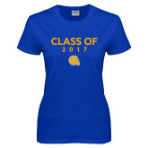 Ladies Royal T Shirt-Class of Design, Personalized year