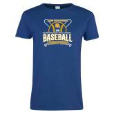 Ladies Royal T Shirt-2018 SIAC Baseball Champions
