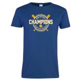 Ladies Royal T Shirt-2018 SIAC Softball Champions