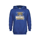 Youth Royal Fleece Hoodie-2018 SIAC Baseball Champions