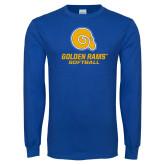 Royal Long Sleeve T Shirt-Softball