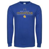Royal Long Sleeve T Shirt-Mens Golf Champions