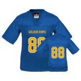Youth Replica Royal Football Jersey-#88