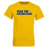 Gold T Shirt-Fear the Golden Rams