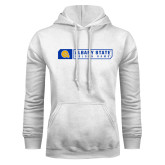 White Fleece Hoodie-Albany State Golden Rams