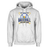 White Fleece Hoodie-2018 SIAC Baseball Champions