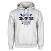 White Fleece Hoodie-2018 SIAC Softball Champions