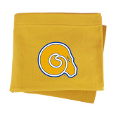 Gold Sweatshirt Blanket-Primary Mark