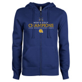ENZA Ladies Royal Fleece Full Zip Hoodie-Mens Golf Champions