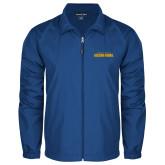 Full Zip Royal Wind Jacket-Wordmark