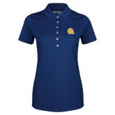 Ladies Callaway Opti Vent Sapphire Blue Polo-Primary Mark