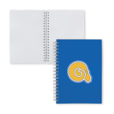 Clear 7 x 10 Spiral Journal Notebook-Primary Mark