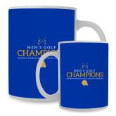 Full Color White Mug 15oz-Mens Golf Champions