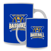 Full Color White Mug 15oz-2018 SIAC Baseball Champions