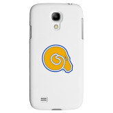 White Samsung Galaxy S4 Cover-Primary Mark