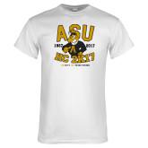 White T Shirt-ASU HC 2K17