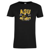 Ladies Black T Shirt-ASU HC 2K17