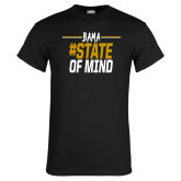 Black T Shirt-Bama State of Mind