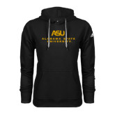 Adidas Climawarm Black Team Issue Hoodie-ASU Alabama State University