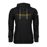 Adidas Climawarm Black Team Issue Hoodie-Alabama State University