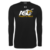 Under Armour Black Long Sleeve Tech Tee-Track and Field