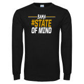 Black Long Sleeve T Shirt-Bama State of Mind