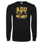 Black Long Sleeve T Shirt-ASU HC 2K17