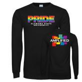 Black Long Sleeve T Shirt-PRIDE