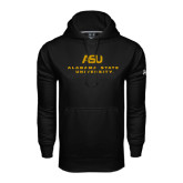 Under Armour Black Performance Sweats Team Hoodie-ASU Alabama State University