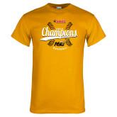 Gold T Shirt-2016 SWAC Champions Baseball