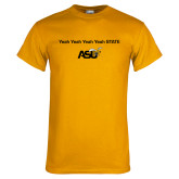 Gold T Shirt-Yeah State