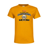 Youth Gold T Shirt-Five Straight SWAC Championships Mens Golf 2016