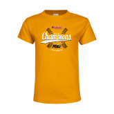 Youth Gold T Shirt-2016 SWAC Champions Baseball
