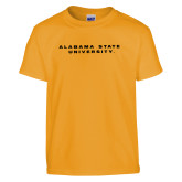 Youth Gold T Shirt-Alabama State University