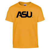 Youth Gold T Shirt-ASU