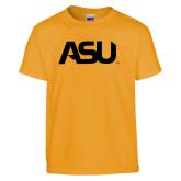 Youth Gold T Shirt-ASU