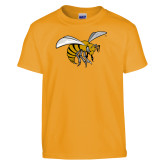 Youth Gold T Shirt-Hornet