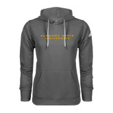 Adidas Climawarm Charcoal Team Issue Hoodie-Alabama State University
