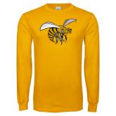 Gold Long Sleeve T Shirt-Hornet