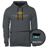 Contemporary Sofspun Charcoal Heather Hoodie-ASU Alabama State University