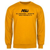Gold Fleece Crew-ASU Alabama State University