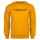 Gold Fleece Crew-Alabama State University