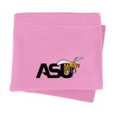Pink Sweatshirt Blanket-Official Logo